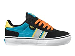 DVS Milan 2 CT - Blk/Blue Suede (Youth)