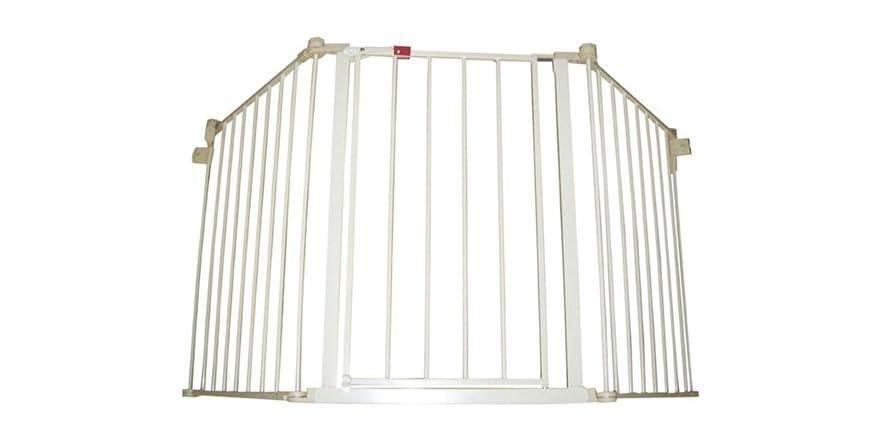Regalo Superwide Configurable Safety Gate Beige Kids