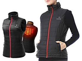 ORORO Men's and Women's Heated Outerwear