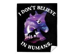 """""""Believe in Magic"""" Mink Fleece Blanket"""