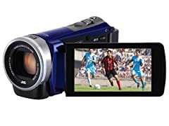 JVC Full HD Everio Camcorder with 40x Optical Zoom