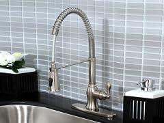 Pull Down Faucet - Satin Nickel