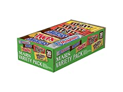 Full Size Bars Variety Mix, 30-Count Box