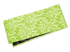 Large Damask Table Runner-Chartreuse