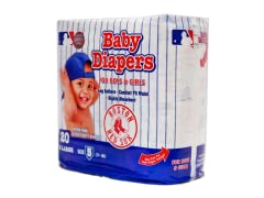 Boston Red Sox Diapers (160-192ct)