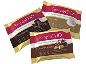 36 Count SimpleMD Protein Bars 1.23 oz. (Variety Pack)