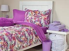Natalie 26pc Reversible Dorm Set-Full