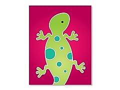 "11"" x 14"" Gecko Print"