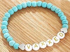 Vax Inspired Stretch Beaded Bracelet