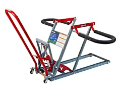 Lawn Mower Lift with 350 LBs Capacity, Red