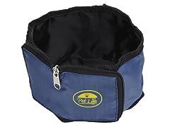 Travel Pet Bowl Wallet - Blue