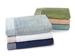 Egyptian Cotton 3PC Bath Set- 6 Colors