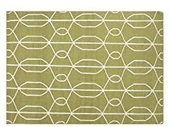 Maroc Naima Flat Weave - Wasabi