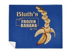 """""""Original Frozen Banana"""" Mink Fleece Blanket"""