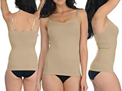 Upper Body Shaper, Nude