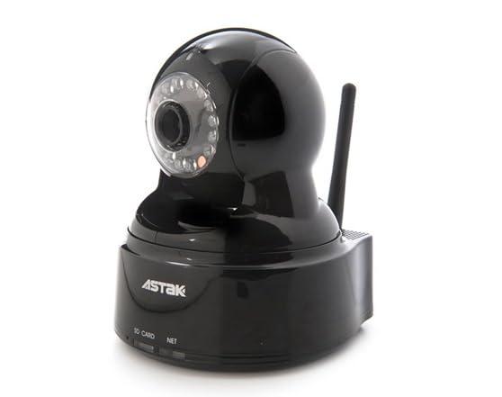 ASTAK MOLE Pan/Tilt Wi-Fi IP Camera