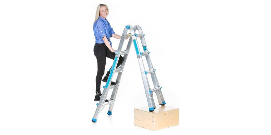 Workman 17 Foot Multi Configuration Ladder