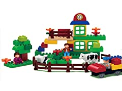 The Farm Action Toy Play Set