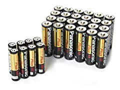 24AA/8AAA Alkalineplus Battery Pack