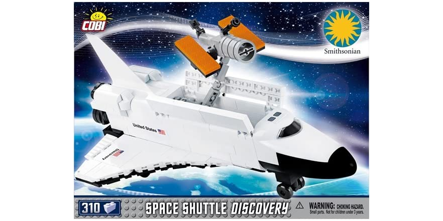 space shuttle discovery cobi - photo #2
