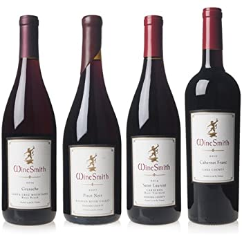 4-Pk. WineSmith Mixed Red