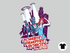 Zombie Vampire Robots from Space