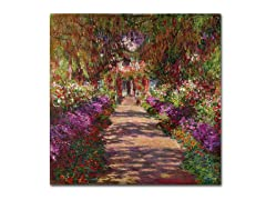 Monet Pathway in Monet's Garden(2 Sizes)