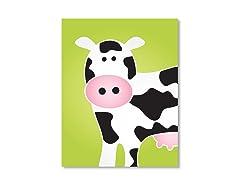 "11"" x 14"" Cow Print"