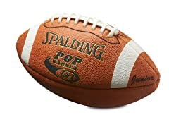 Spalding Pop Warner Jr. Leather Football