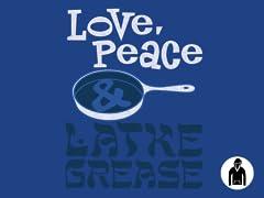 Love, Peace & Latke Grease Hoodie