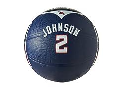 Atlanta Hawks Joe Johnson Full-Size Ball