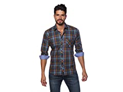 Jared Lang Dress Shirt, Gingham