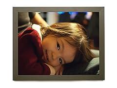 Framed 16x20 Photo to Canvas - Satin Dark Silver