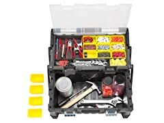 Parts & Crafts Tiered Storage Tool Box - 22 Inch