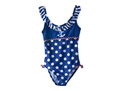 Sailor & Dot 1pc - Royal Blue (12M-4T)