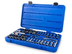 Armstrong 1/2-Inch Drive 6-Point Tool Set, 49-Piece