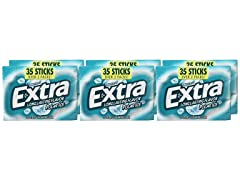 Extra Polar Ice Sugarfree Gum, 6pk