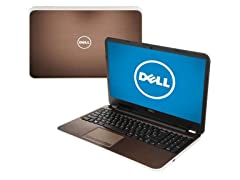 "Dell 17.3"" AMD Quad-Core Laptop - Bronze"
