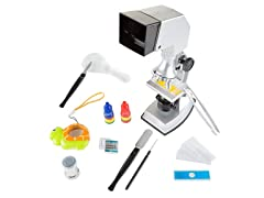 Microscope for Kids Set (18 Piece)