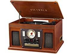 Victrola 7-in-1 Sherwood Recordable Record Player