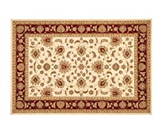 Majesty Rug Cream/Red