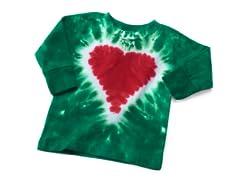 Baby Long Sleeve Tee - Heart