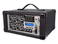 4-Channel 400W Powered Mixer w/ MP3/USB
