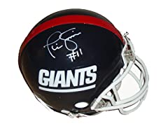 Phil Simms Giants T/B Replica Mini Helm