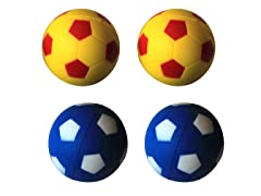 6Pk Bouncing Sponge Ball - 3 Colors