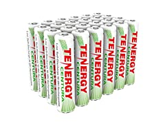 Tenergy AAA Rechargeable Battery 24 Pack