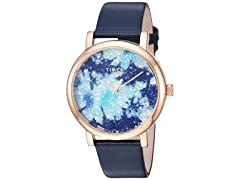 Timex Crystal Bloom Womens Blue Watch