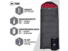 Tough Outdoors Lumberjack Sleeping Bag