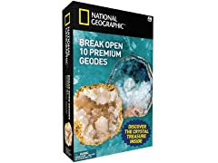 National Geographic - Break Open 10 Geodes