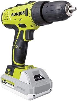 Sun Joe 24-Volt Lithium iON Cordless Drill Driver